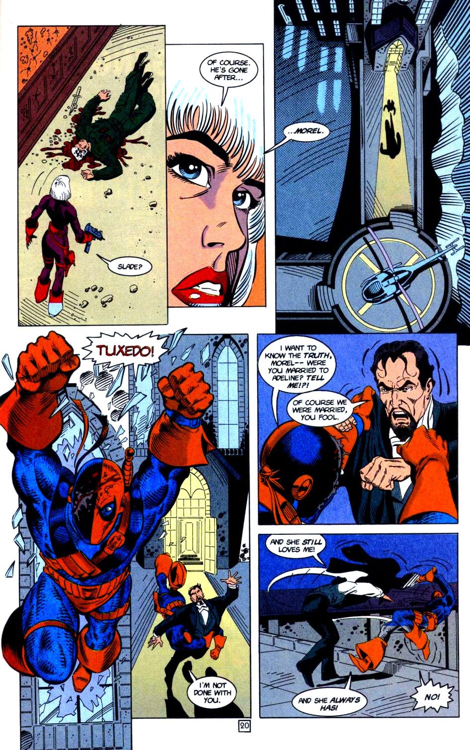 Deathstroke (1991) Issue #32 #37 - English 21
