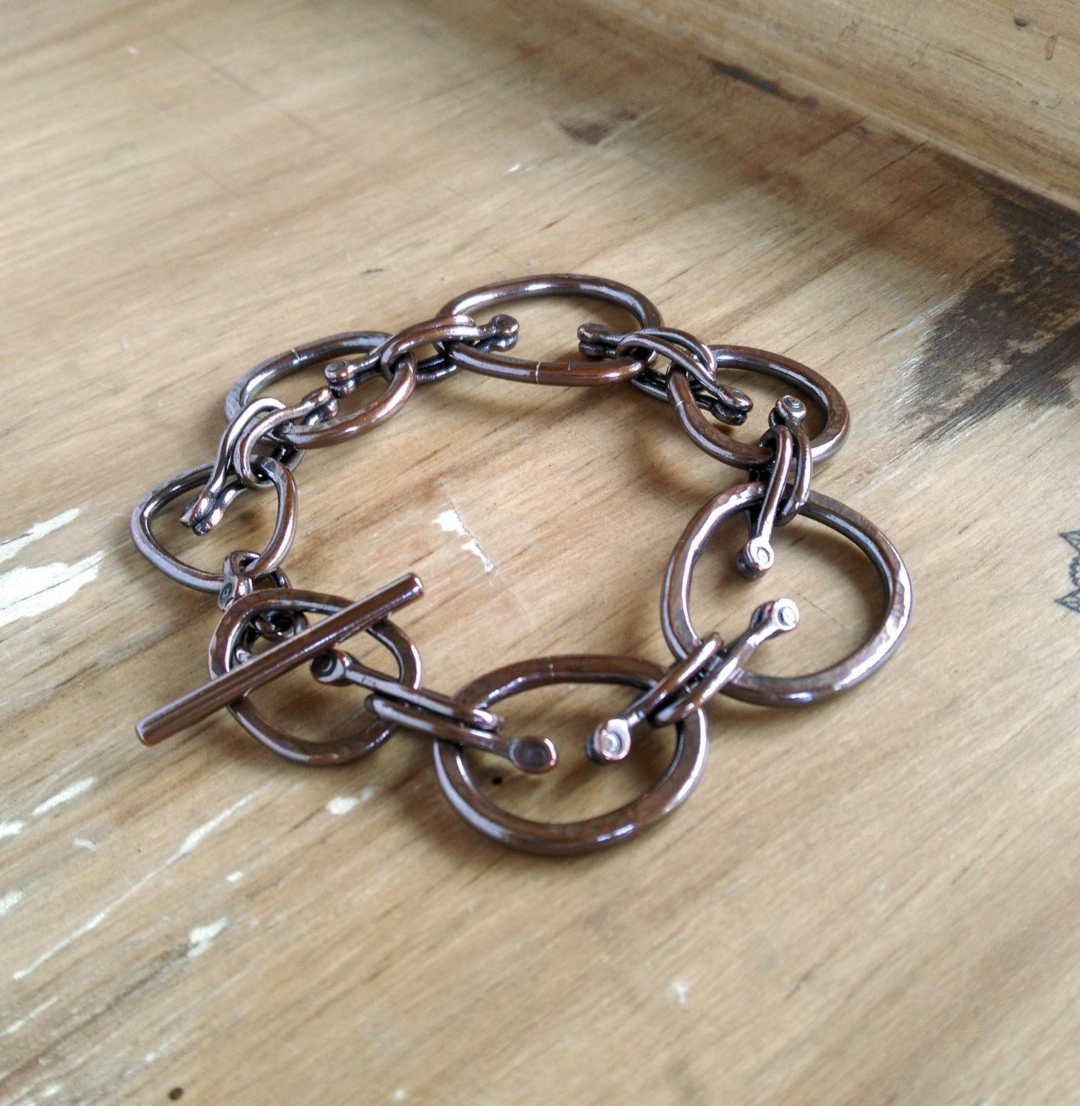 a copper link bracelet it s a bit harder than i
