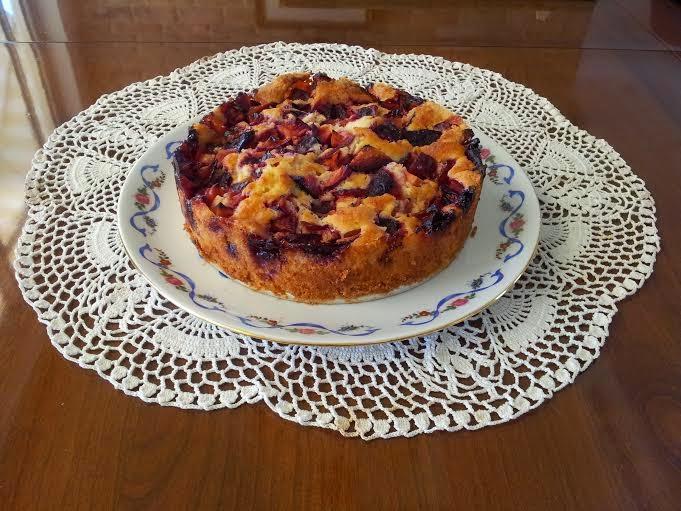 עוגת שזיפים במפגש ברידג'