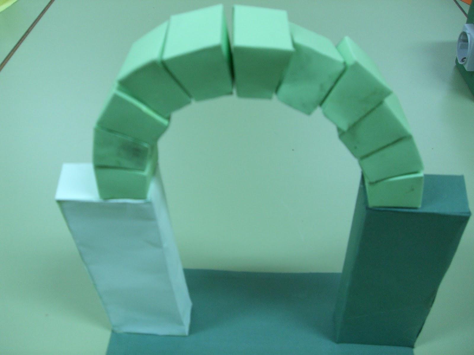 Tecnología escolar - E.S.O.: PROYECTO: Arco de medio punto