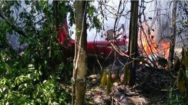 Pesawat Aerobatik Jupiter Hancur Setelah Bertabrakan di Udara