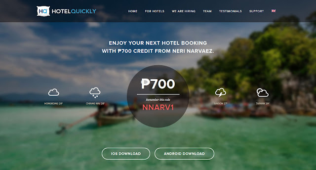 HOTEL QUICKLY: Last Minute Hotel Booking App and A Free Accommodation