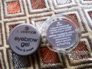Essence Eyebrow Gel In Brown 01