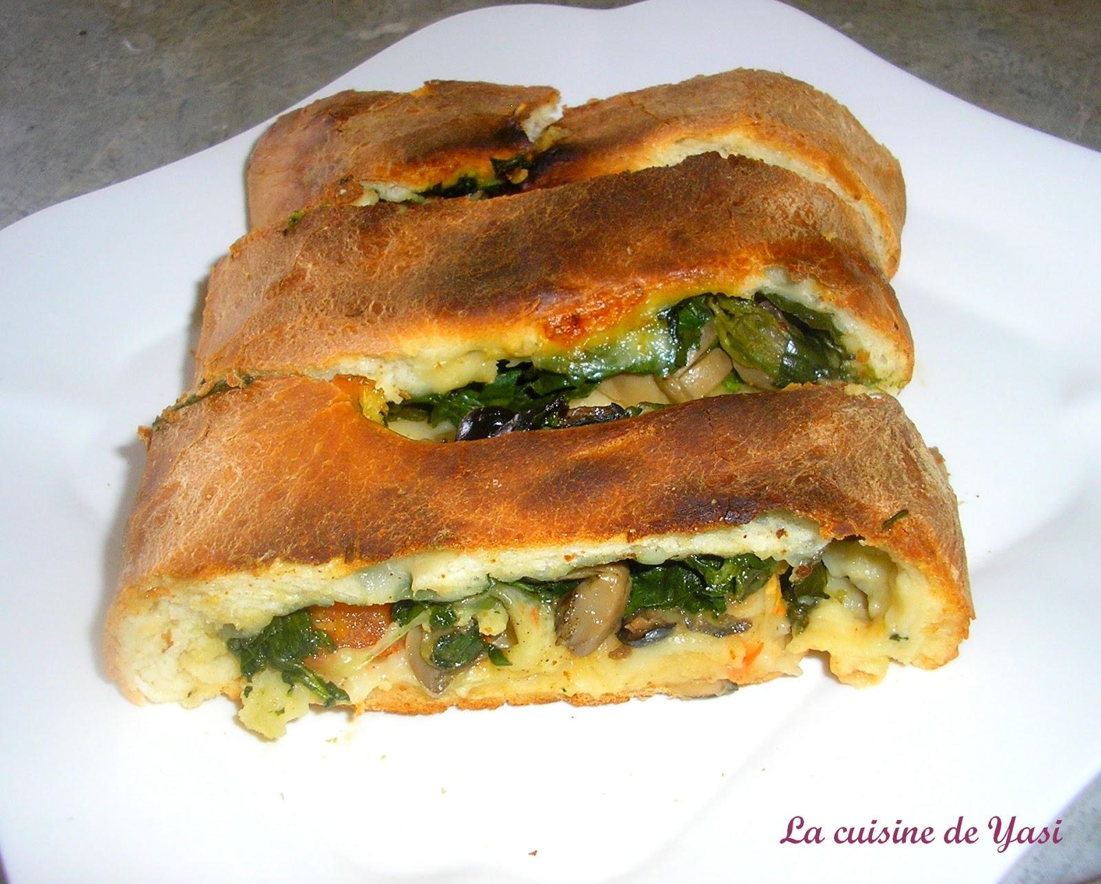 Que Faire Avec Pate A Pizza la cuisine de yasemin: pizza stromboli