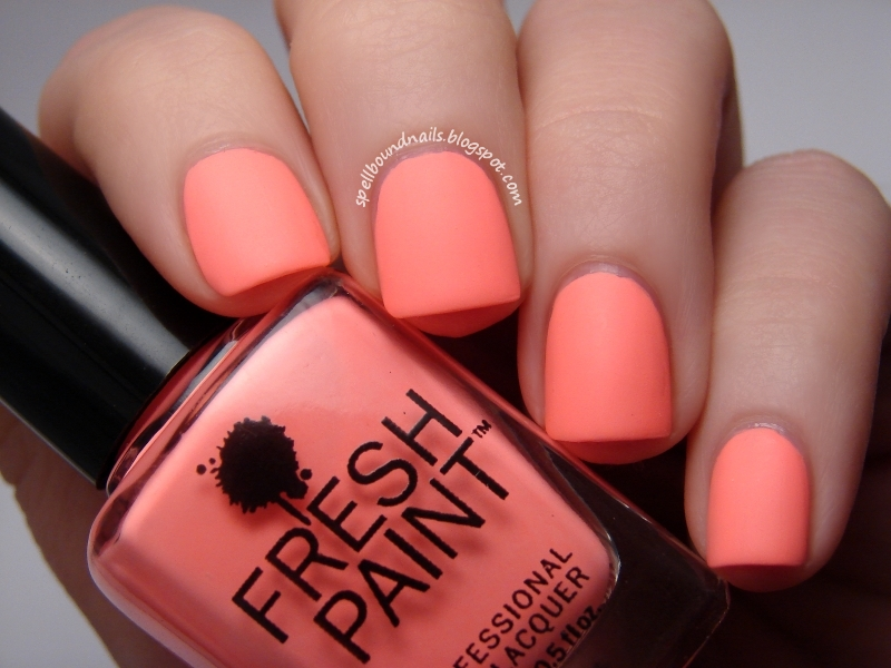 Nail Art Style: Fresh Paint Guava - Swatch and Review