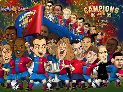 Barca Toons Wallpapers