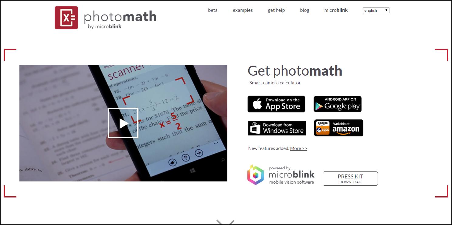 PhotoMath 神奇數學解題App 免費中文版登陸 Android