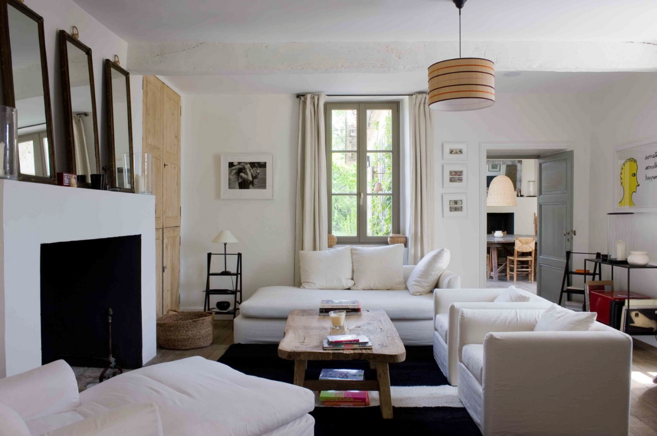 Le blog mademoiselle country house by french decorator for Sarah lavoine decoration