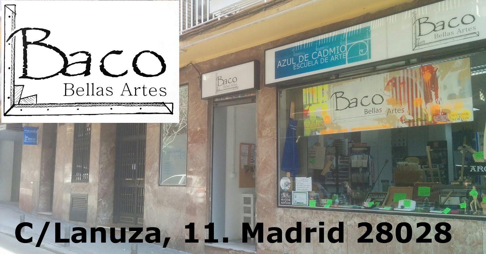 BACO BELLAS ARTES. Tu tienda de Bellas Artes