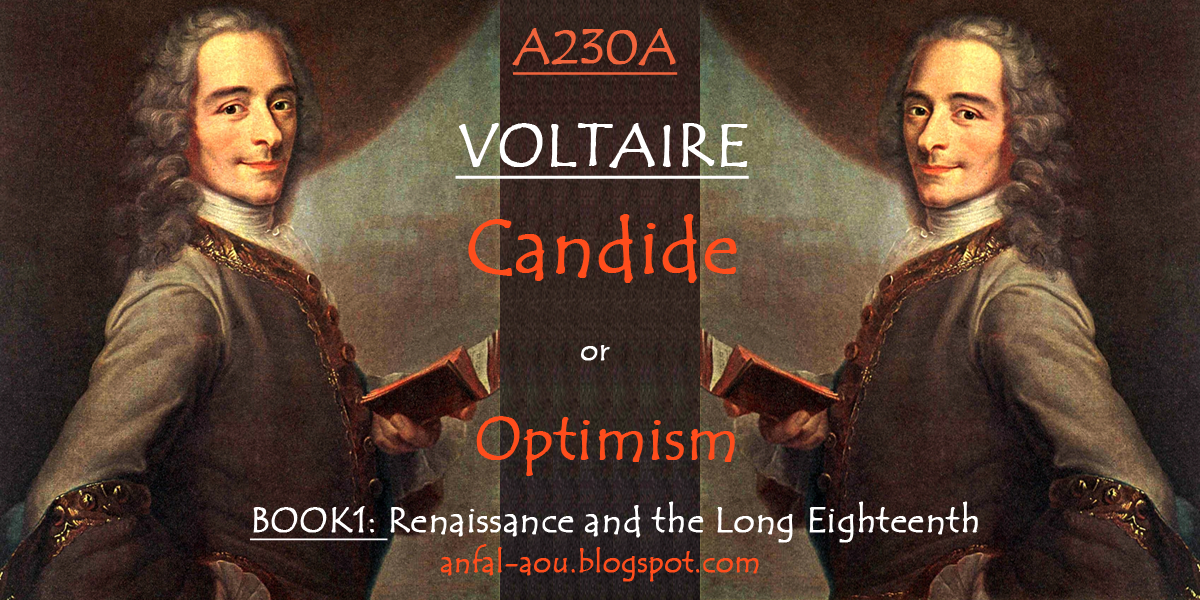 a summary and response to candide by voltaire Candide, or optimism: voltaire a rosy outlook on life was the theme of voltaire's satire, candide, or optimism rather than embracing a truly pessimistic.