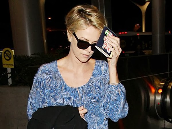 Charlize Theron's Fashion Side in Dark