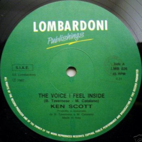 Ken Scott - The Voice I Feel Inside (Vinyl,12'') (1986)
