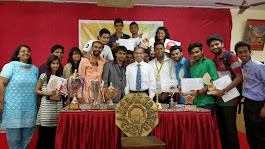 WITH PRTNCIPAL OF PATKAR COLLAGE