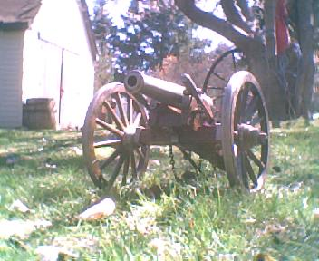 My Old Civil War Cannon