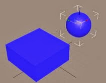 Creación de un objeto booleano a partir de una caja y una esfera en 3D Studio Max