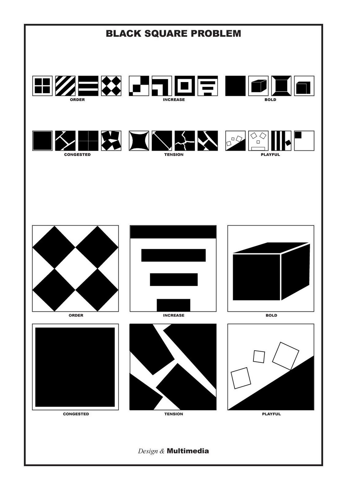 Harry, Cert III Media: LA4 Black Squares
