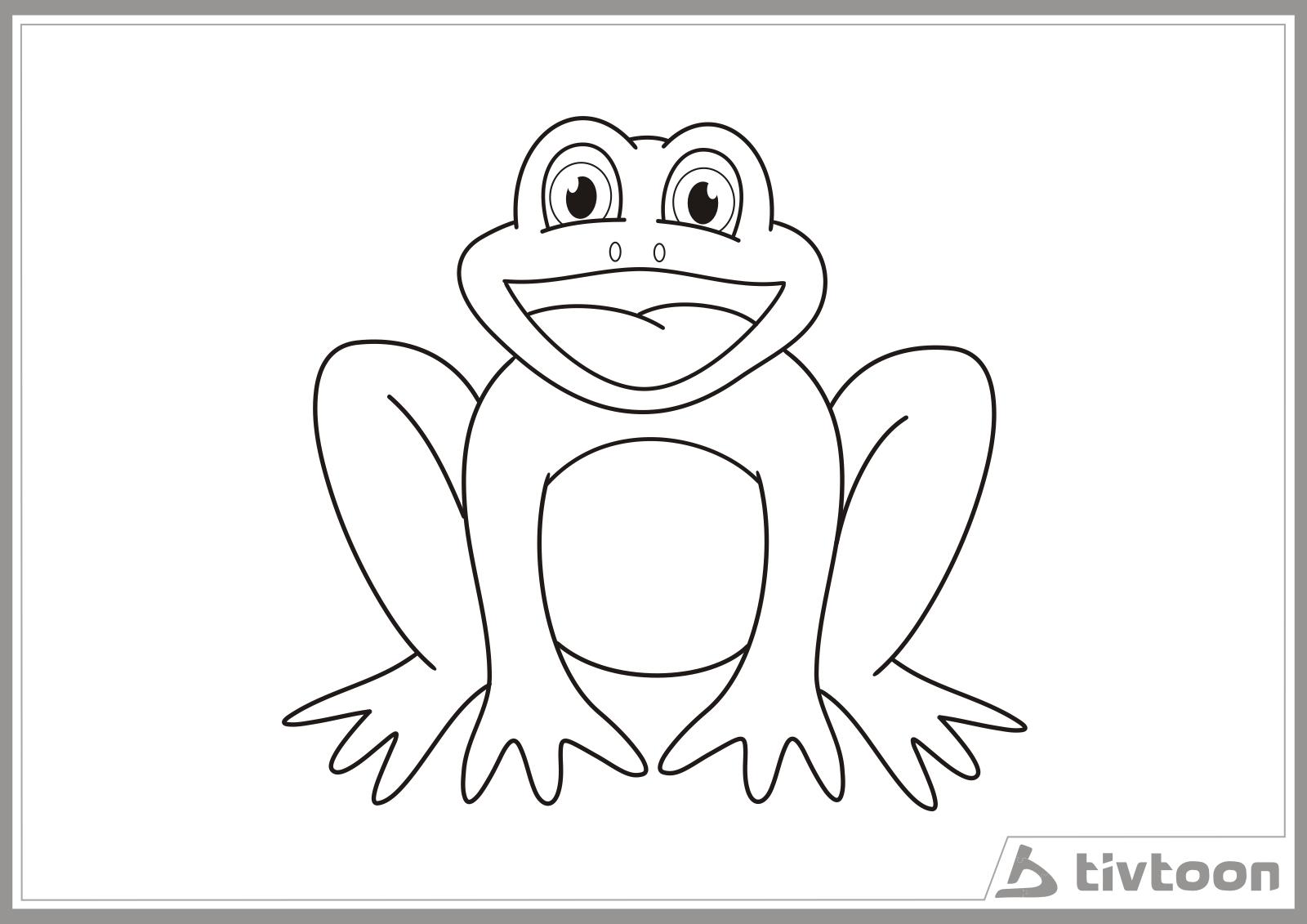 gambar katak - gambar kartun katak