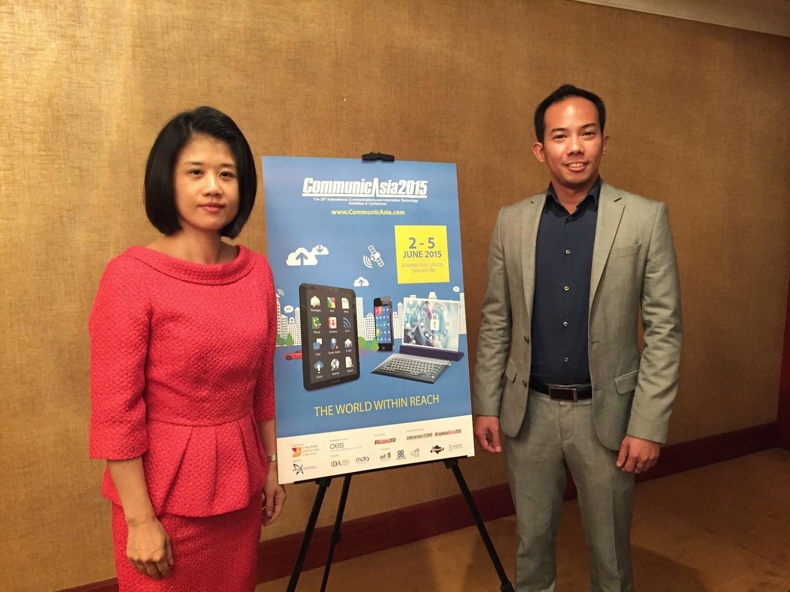 CommunicAsia Press Con