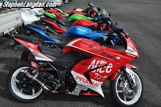 modifikasi motor ninja 250