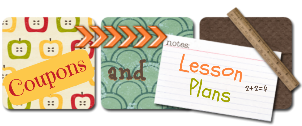 Coupons and Lesson Plans