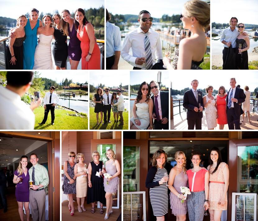 shooting guests at wedding photo