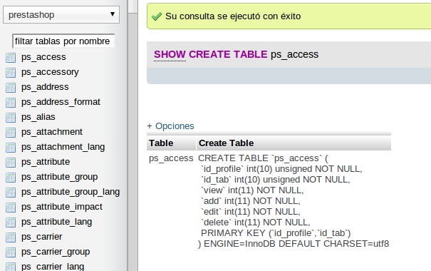Right now sp helptext en mysql u obtener create table - Mysql create table example ...