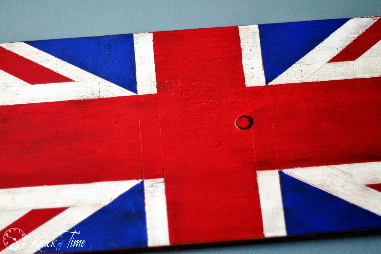 Union Jack Sign via Knick of Time