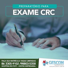 Preparatório Exame CRC