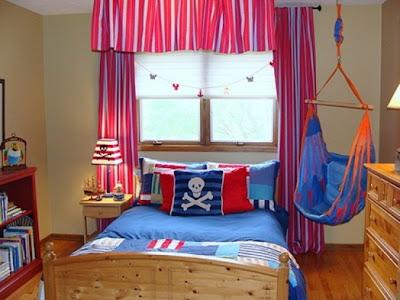 Dormitorio infantil estilo marinero