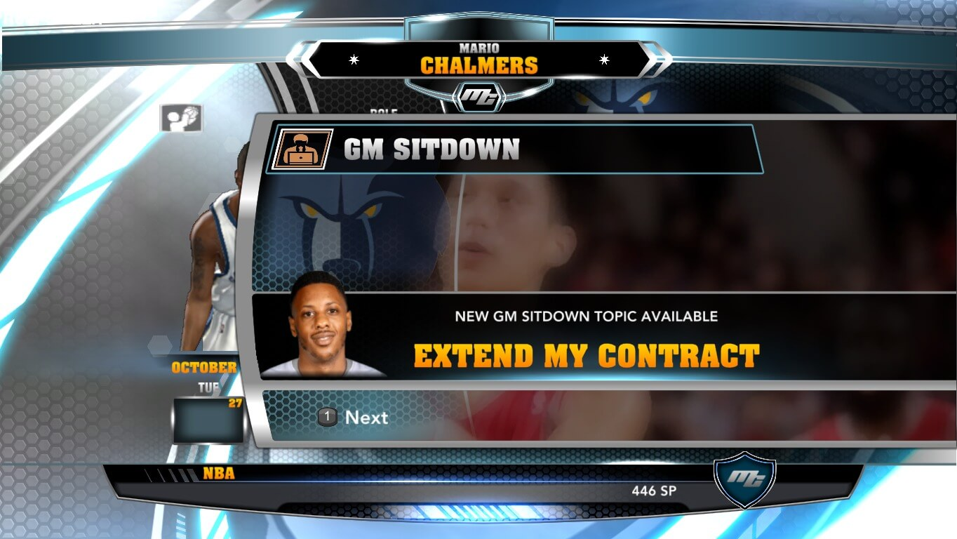 NBA 2k14 MyCareer Mod : Mario Chalmers - hoopsvilla