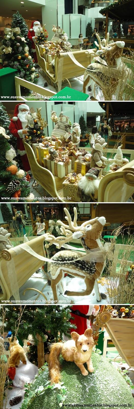 Decoração de natal no shopping