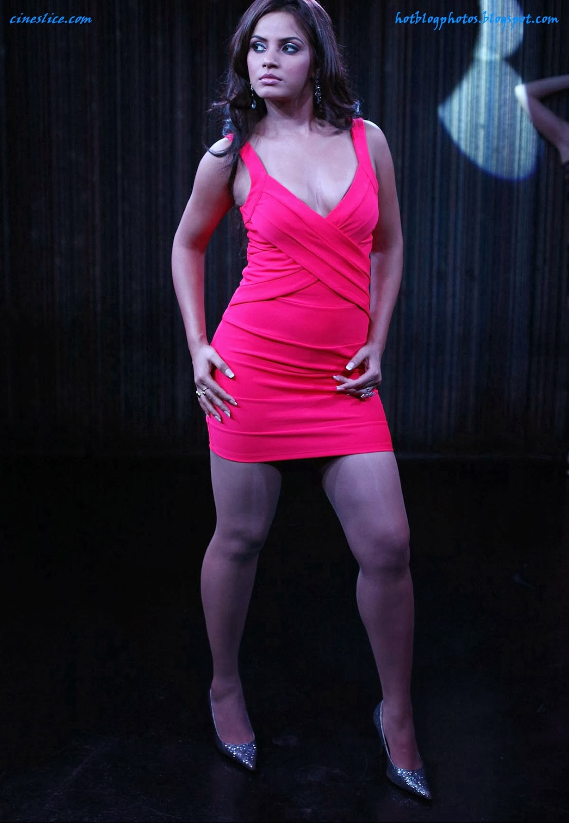 Neetu chandra hot thigh and cleavage show photos in tight for Hot images blog