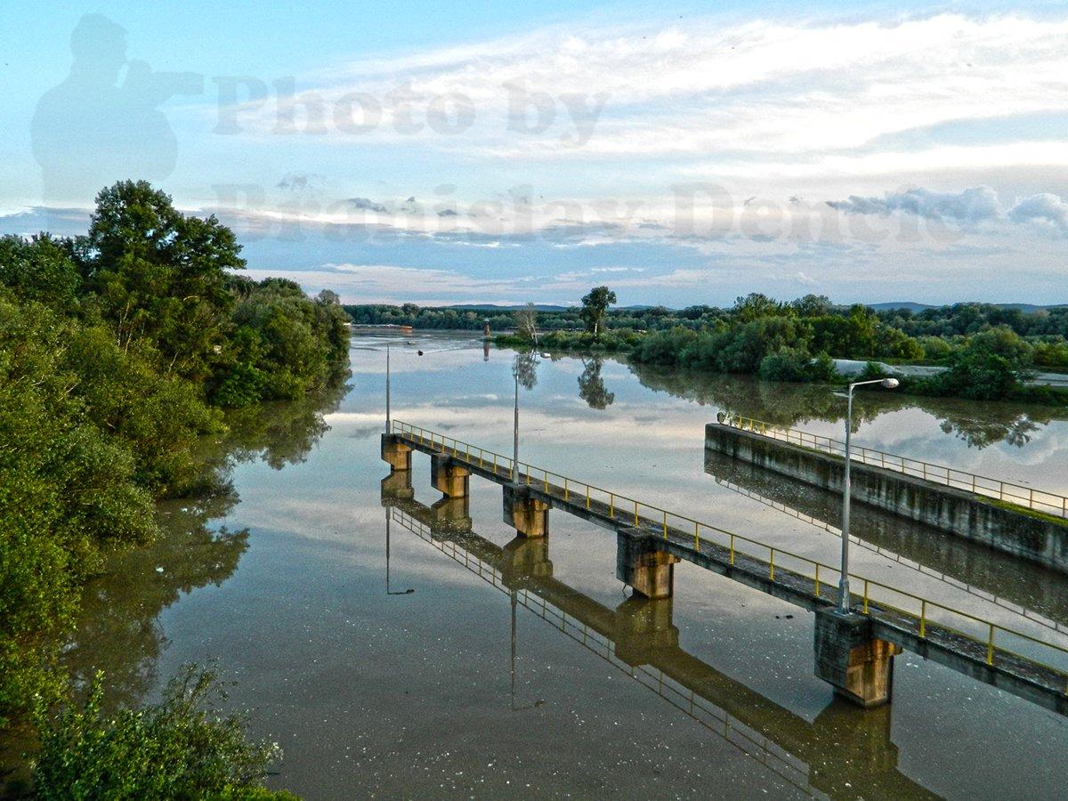 Visok vodostaj reke Tamiš