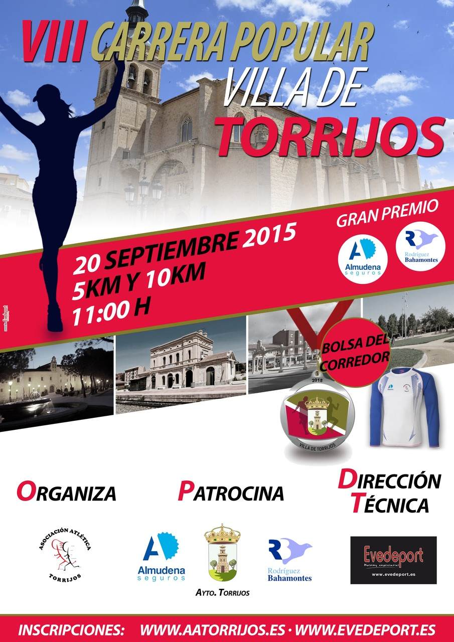 VIII Carrera Popular Villa de Torrijos.