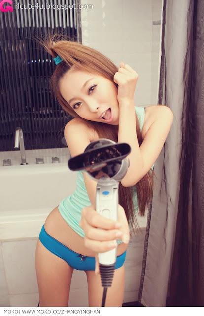 4 Zhang Yinghan - Bathroom-very cute asian girl-girlcute4u.blogspot.com