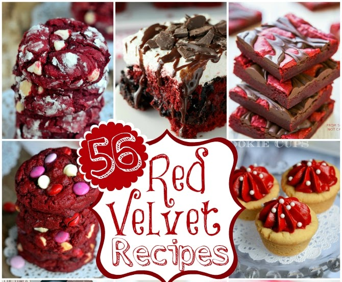 56 Red Velvet Recipes