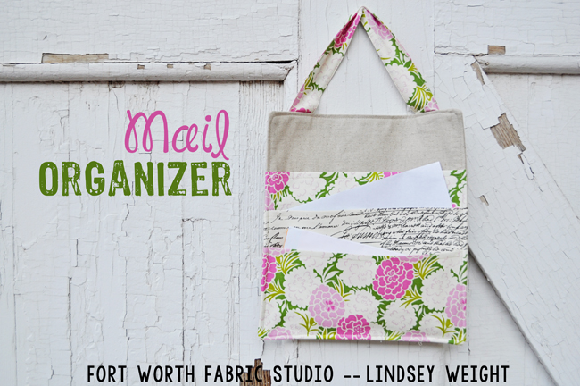 Fort worth fabric studio mail organizer tutorial this mail organizer is the perfect size to hang on our wall in the kitchen right by our back door so when we come into the house we can stick whatever solutioingenieria Images