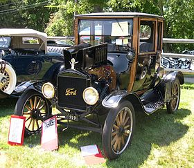 Thin Lizzy band name origins - Ford Model T