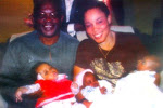 Olympic Medalist, Ajunwa: triplets after 8 years. Click pix 4 story