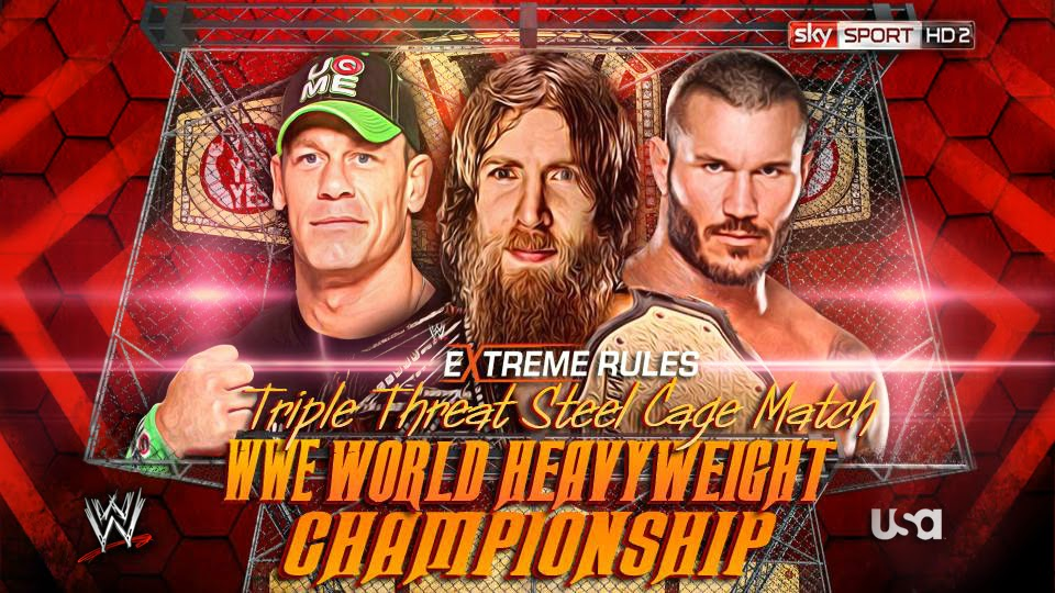 WWE Extreme Rules 2014 Replay Review - Results, Winners and Highlights