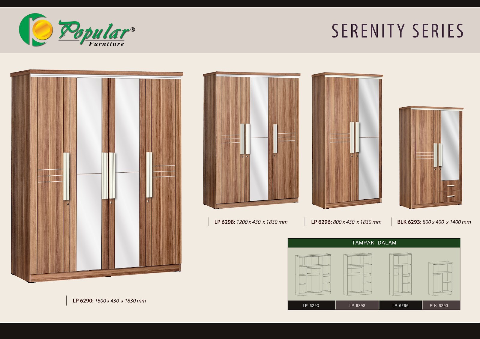 Lemari pakaian murah ask home design for Lemari kitchen set aluminium