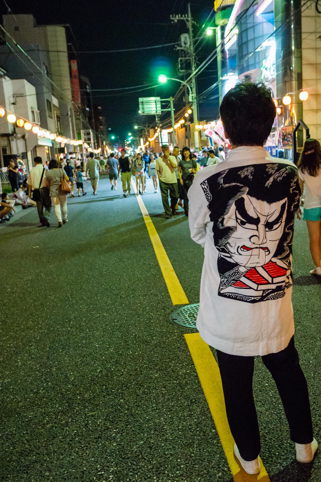 立川、羽衣ねぶた祭の写真