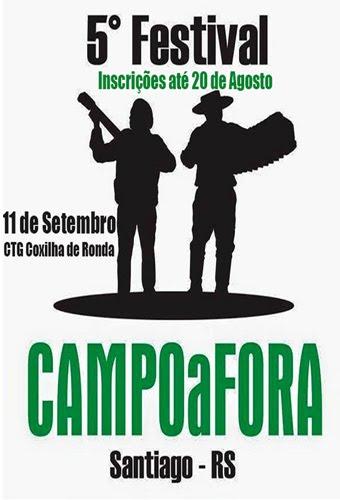 Festival Campo a Fora - Santiago - RS
