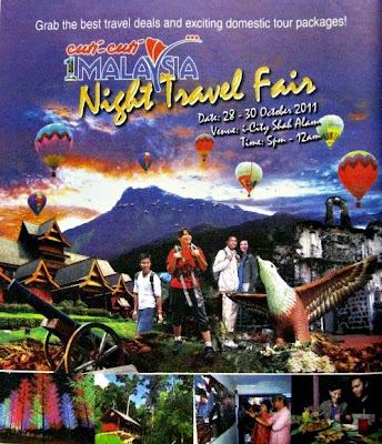 Cuti-Cuti Malaysia Night Travel Fair 2011