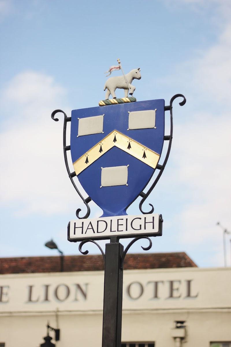 hadleigh suffolk sheep sign
