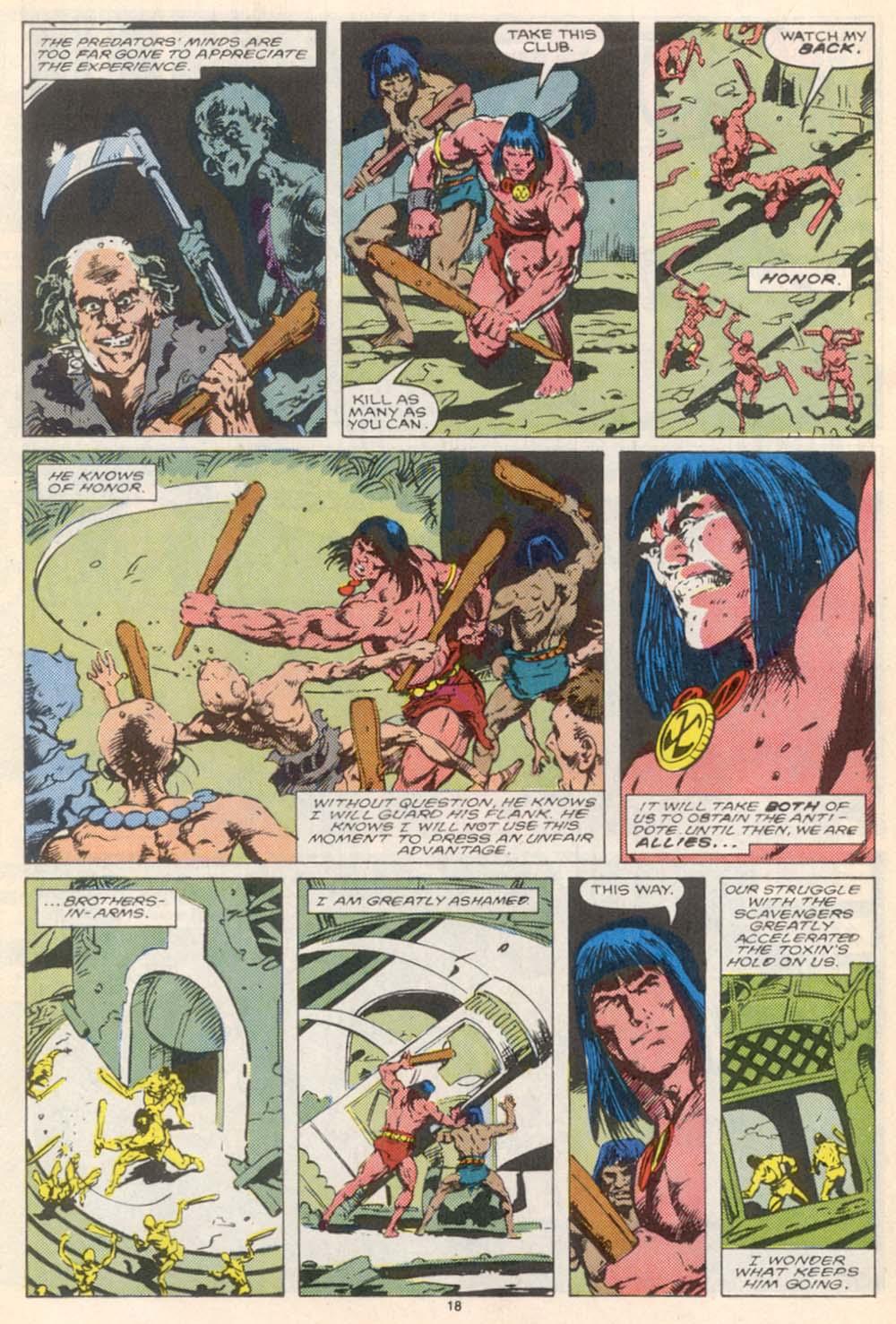 Conan the Barbarian (1970) Issue #208 #220 - English 15