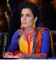 Kangna  Ranaut promotes 'Queen' on the sets of India's Got Talent
