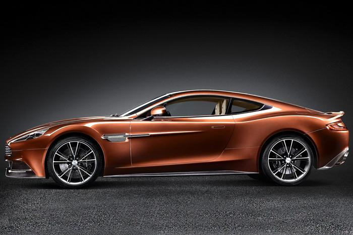Aston Martin Vanquish Price in India New Aston Martin Vanquish Side