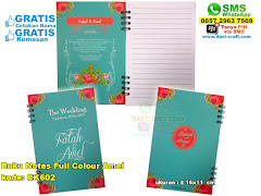 Buku Notes Full Colour Amel