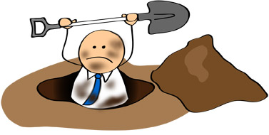 Academic Cog: Digging oneself out of a financial hole